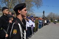 В Севастополе стартовал финал военно-патриотической игры «Зарница»