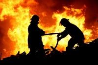 В Керчи торжественно открыли пожарно-спасательный пост
