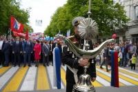 В первомайском праздничном шествии приняли участие более 20 тыс севастопольцев