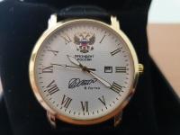 Путин подарил часы митрополиту Симферопольскому и Крымскому Лазарю