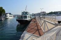 В Севастополе возобновили маршруты пассажирских катеров в Голландию