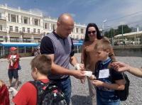 В Ялте прошла экологическая акция «Чистый берег»