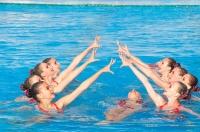В Евпатории проходит турнир по синхронному плаванию