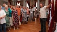 В Ливадийском дворце открылась выставка художника Сергея Бочарова «От Владимира до Владимира»