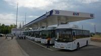 В Севастополе открыли современную газозаправочную станцию