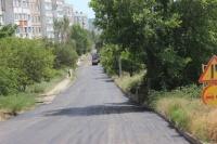 В Керчи асфальтируют дорогу по Индустриальному шоссе