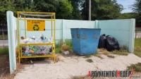 В Керчи установили приемники для пластикового мусора