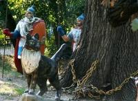 В Детском парке Симферополя начали реставрацию сказочных героев