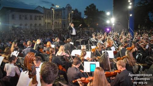 Фестиваль «Еврооркетсрия – Крым» завершился масштабным концертом