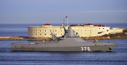 Патрульный корабль «Дмитрий Рогачев» прибыл в Севастополь