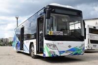 В Симферополе тестируют новый автобус