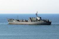 Плавмастерская ЧФ РФ возвращается в Севастополь из Средиземного моря