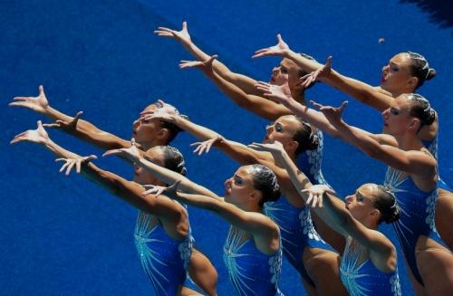 Российские синхронистки завоевали золото