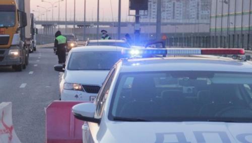 На Крымском мосту зафиксировали резкое увеличение трафика