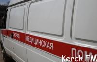 В ночь с 24 на 25 мая в Керчи произошло ДТП с участием автомобиля скорой