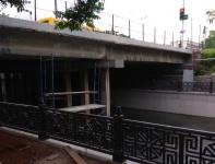 Ремонт моста на улице Гагарина в Симферополе еще не окончен