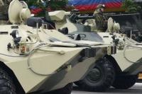 Военные готовятся к проведению парада Победы в Симферополе