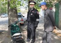 В Евпатории сотрудники Госавтоинспекции проводят профилактическое мероприятие «Мотоциклист»