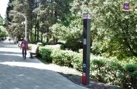 В Пионерском парке появилось устройство для оповещения и вызова экстренных служб