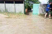 В Севастополе затопило Любимовку