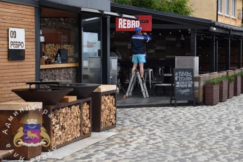 В Ялте возобновили работу летние площадки кафе и ресторанов