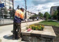 В Симферополе начали генеральную уборку города