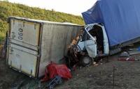 "Два грузовика столкнулись на ""Тавриде"": пострадал пассажир"