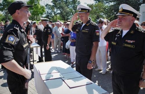 Курсанты военного учебного центра СевГУ приняли присягу