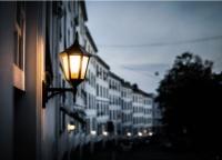 В Симферополе ведутся работы по улучшению уличного освещения