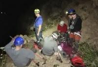 Гора Демерджи накануне вечером «взяла в плен» четырех туристов