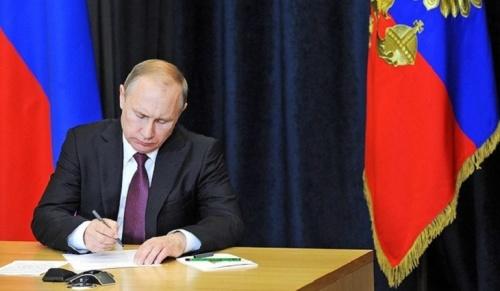 Владимир Путин запретил выдавать заем под залог недвижимости