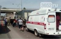 В Симферопольском районе столкнулись два грузовика: водителя зажало в кабине