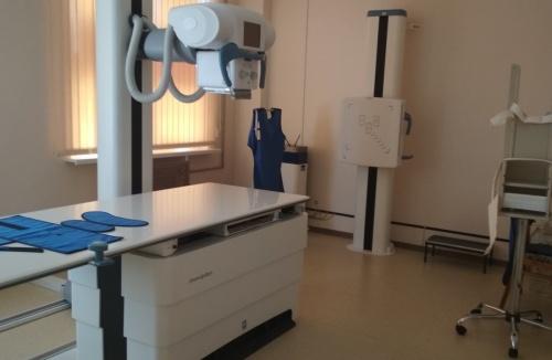 В детской больнице Керчи на новом рентгенологическом комплексе обследовали почти 400 детей