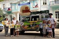 В Евпатории детское творчество стало основой для создания агитационного автомобиля Госавтоинспекции
