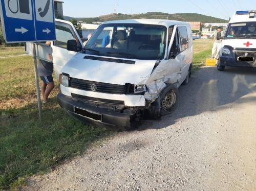 На Керченском шоссе ДТП: пострадали четверо, в том числе дети
