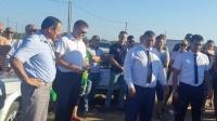 Альберт Кангиев провел встречу с жителями города Евпатория