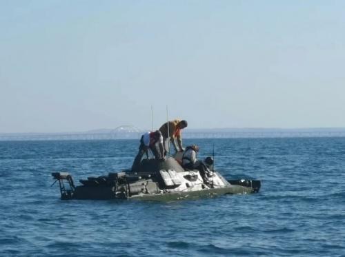 Поиски затонувшей в Керченском проливе бронемашины БРДМ-2 возобновятся 28 июля