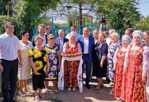 Торжественный пуск природного газа состоялся в с. Харитоновка Симферопольского района