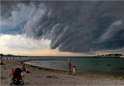 МЧС Крыма выдало штормовое предупреждение на два дня