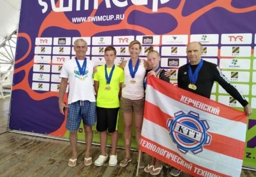 Керченские спортсмены привезли 8 медалей с соревнований по плаванию на открытой воде