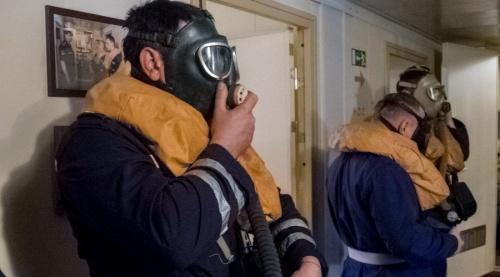 Подводники ЧФ провели учение по выходу через торпедные аппараты
