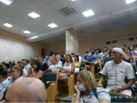 В Евпатории публичные слушания по проекту «Парк Забава» закончились скандалом