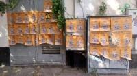 Нарушитель, заклеивший центр Симферополя рекламой такси, получит штраф