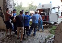 Мама с маленьким ребенком упали в шахту заброшенной АЭС в Крыму