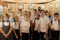 В Ялтинском историко-литературном музее состоялась экскурсия для школьников