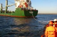 В Керченском проливе спасали севший на мель сухогруз из Мариуполя