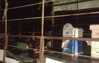 Под Симферополем пожарные спасали от огня пчелиные ульи