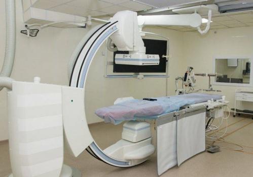 В Евпаторийской городской больнице установлен ангиографический комплекс