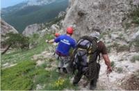 В Черноморском районе туристка сорвалась со скалы