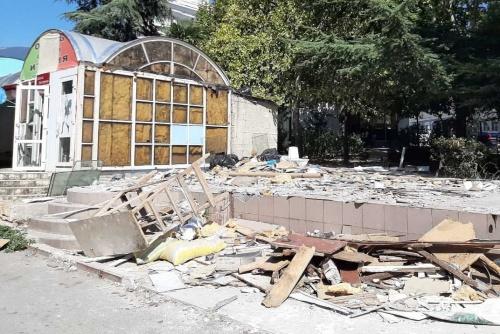 Собственнику незаконного объекта в центре города грозит уголовная ответственность